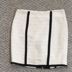 Bebe Acrylic blend mini skirt
